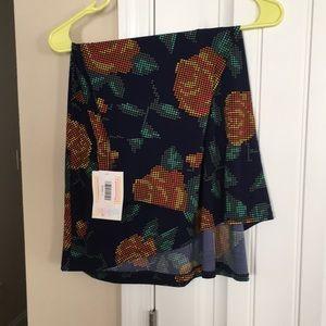 Azure LuLaRoe skirt